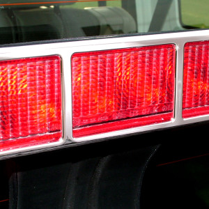 Third Brake Light Bezel slight angle
