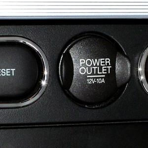Upper Center Button Surrounds
