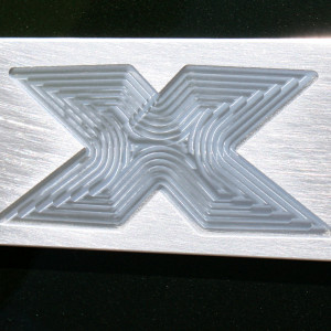 X Emblem Smooth Satin 2