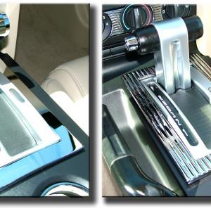 Mustang Shift Bezel Chrome Cover