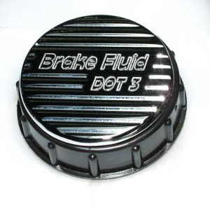 ACTBRK-CV-CRM-840 Action Artistry Ford Mustang Chrome Brake Fluid Cover