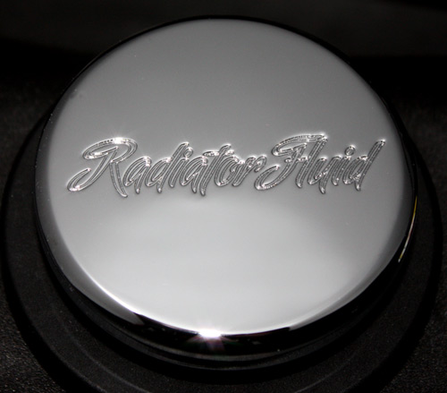 CLSK-SCPT-RAD-II Mustang / F-150 Radiator Cap Chrome Cover