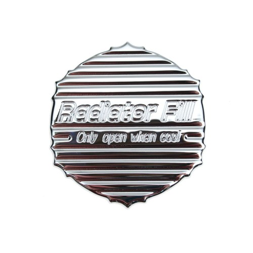 RAD-CV-CRM-820 Action Artistry Radiator Cap Cover Billet Aluminum 2005-2014